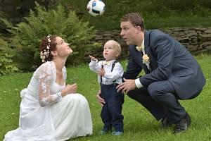 Soutěžní svatební pár číslo 116 - Veronika a Lukáš Ferenčikovi, Hlubočky