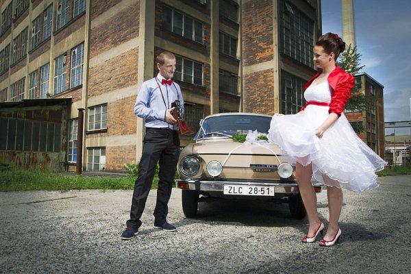 Soutěžní svatební pár číslo 238 - Markéta a Jakub Hambálkovi, Zlín.