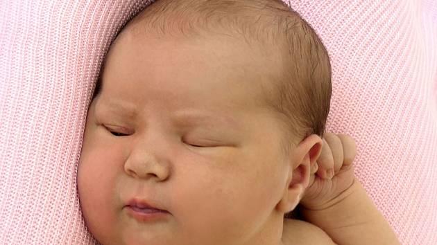 Kateřina Lukeštíková, Jalubí, narozena  25. července 2021 v Uherském Hradišti, míra 49 cm, váha 3450 g