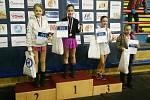 V kategorii nejmladší žačky A obsadila první příčku Zuzana Straňáková, druhá skončila Daniela Popelková.