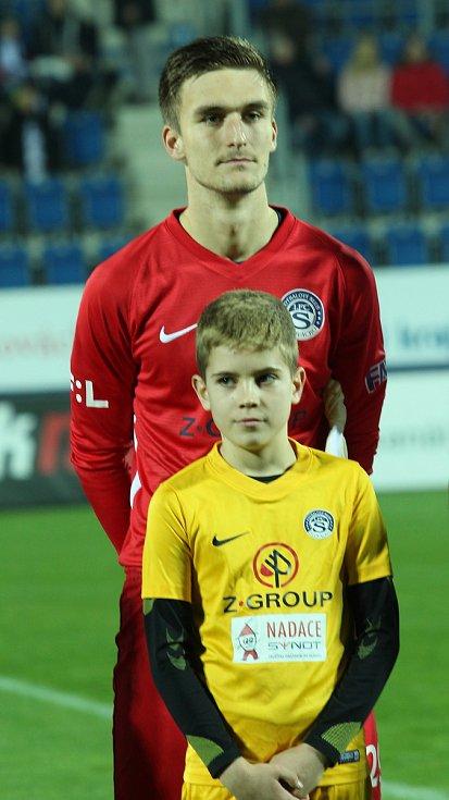 Mladý brankář Matouš Trmal se chce v základní sestavě Slovácka udržet i na jaře.