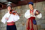 Muzeum J. A. Komenského. Vystoupení folklórních souborů. Soubor Roxolanie Kyjev Ukrajina
