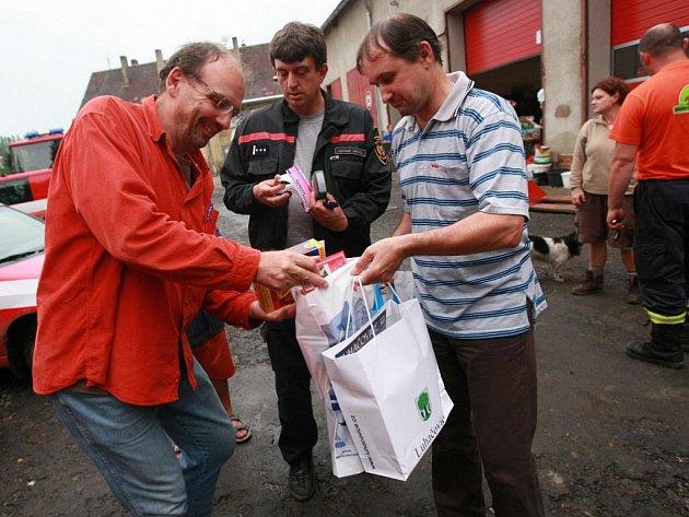 Poděkování za pomoc patří všem, od hasičů až po každého, kdo přispěl, vzkazuje organizátorka akce Veronika Záhorská z občanského sdružení Korunka.