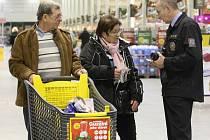 Policie varuje před kapesními zloději. Ilustrační foto.