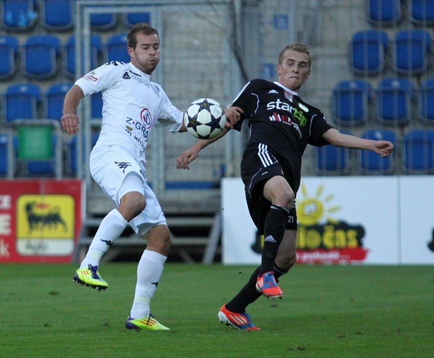 1. FC Slovácko vs. Příbram - Lukáš Kubáň a Jiří Mareš