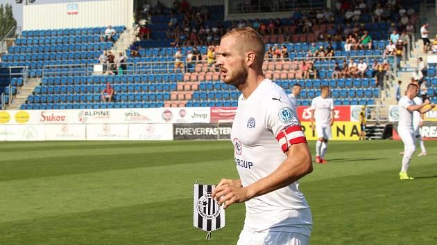 Kapitán fotbalistů Slovácka Vlastimil Daníček.