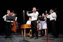 Cimbálová muzika Stojanova gymnázia Velehrad.