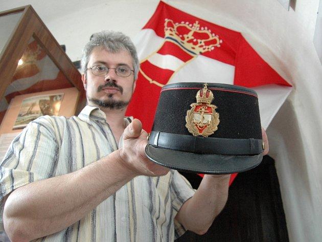 Za císaře pána pod hladinou moře se jmenuje výstava v hradní Zbrojnici U Andělky na Buchlově.
