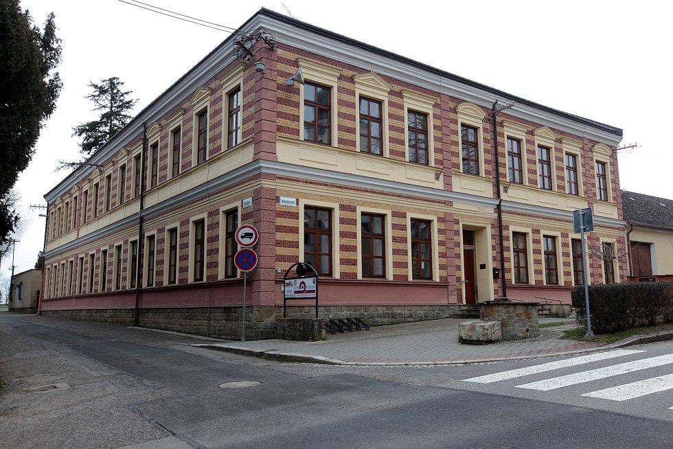 Buchlovice - centrum městyse.