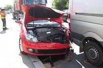 Dopravní nehoda v Jarošově.