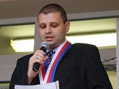 Starosta Nedachlebic Robert Křenek.