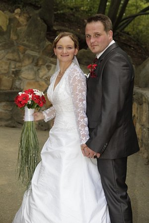 Soutěžní svatební pár 106 - Pavlína a Jakub Papayovi.