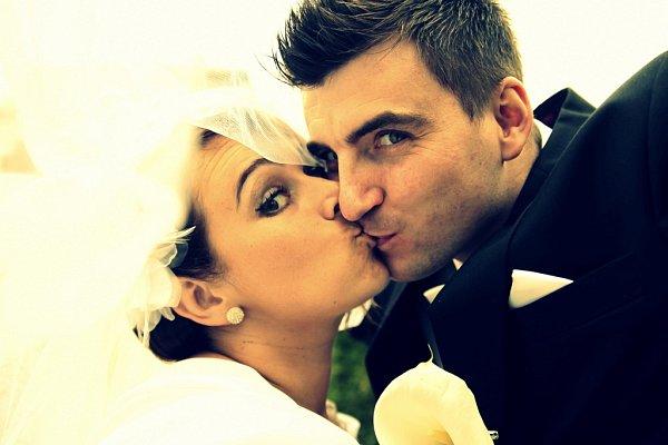 Soutěžní svatební pár číslo 217 - Zuzana a Lukáš Grossertovi, Olomouc.