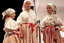 Přehlídka dětských folklorních souborů v Uherském Brodu