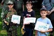 Festival Týká se to také tebe (TSTTT) zahájila akce pro děti Myslivecká stezka.