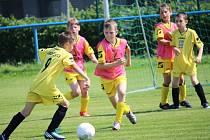 Na turnaji přípravek se utkala pětice týmů.