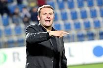 Trenér Svatopluk Habanec umí zvýšit hlas.