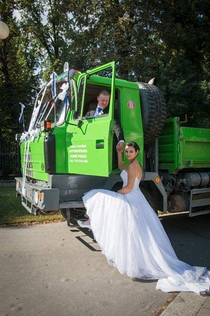 Soutěžní svatební pár číslo 201 - Kateřina a Tomáš Hánošovi, Kroměříž
