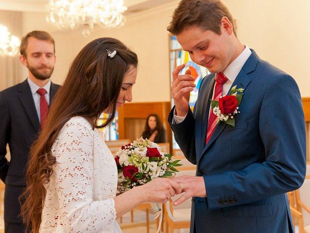 Soutěžní svatební pár číslo 153 - Saskia a Martin Havránkovi