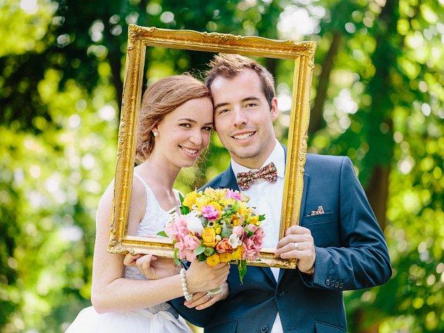 Soutěžní svatební pár číslo  35 – Ivona a Vladimír Doleželovi, Šternberk