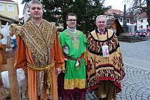 Tříkráloví koledníci vystartovali do ulic také v Uherském Brodě.