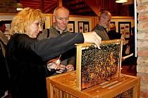 Vernisáž buchlovické výstavy Po všeckém h…o, enom po včelách med aneb Být včelou není žádný med