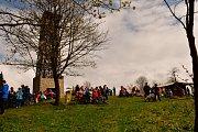 Bílý Karpat otevřel rozhlednu na Velkém Lopeníku.