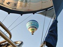 Festival balonového létání v BalonCentru v Břestku.