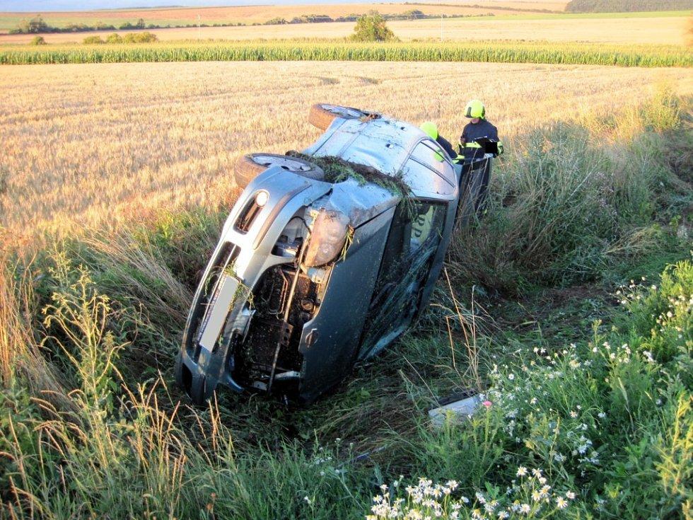 Dopravní nehoda u Uherského Brodu