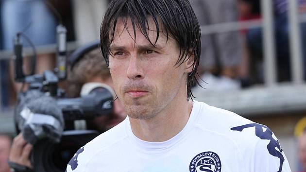 Jan Trousil se stal okamžitě po svém letním příchodu šéfem obranné čtveřice Slovácka.