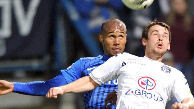 FC Slovan Liberec - 1.FC Slovácko. Ilustrační foto.