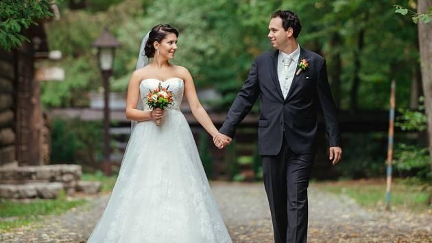 Soutěžní svatební pár číslo 4 - 4.Jitka a Vojtěch Grecmanovi, Olomouc