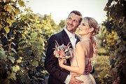 Soutěžní svatební pár číslo 137 - Edita a David Buršíkovi, Uherské Hradiště.