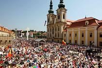 Jubilejní oslavy přilákají na poutní místo ještě větší zástupy než v roce 2012. Ilustrační foto.