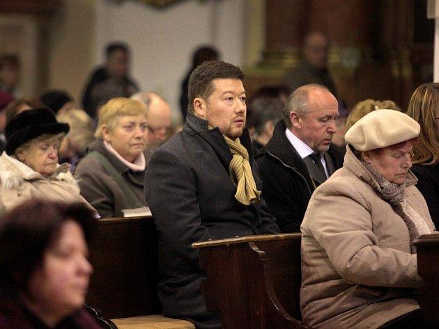 Ekumenická mše za oběti střelby v kostele v Uherském Brodě.