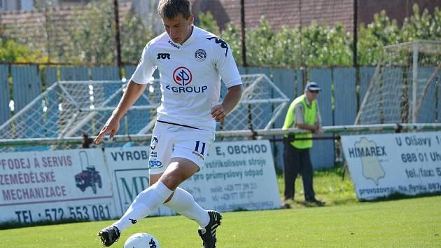 Útočník Jan Lukáš bojuje o místo v prvním týmu 1. FC Slovácko.