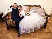 Soutěžní svatební pár číslo 41 - Šárka a Pavel Michovi, Valašské Klobouky