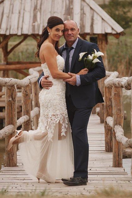 Soutěžní svatební pár číslo 64 - Monika a Josef Romanovi, Troubky nad Bečvou