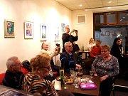 Výstava obrazů Dany Šumíčkové v brodském Cafe Clubu