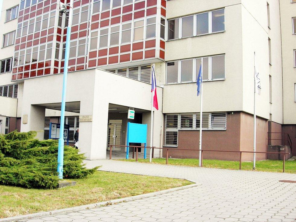 Budova Policie Čerské republiky v Uherském Hradišti.