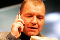 Herec Slováckého divadla Kamil Pulec.