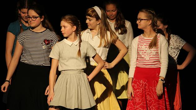 V pondělí 12. března se odehrála na pódiu Slováckého divadla Akademie Gymnázia Uherské Hradiště.