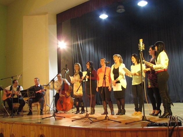 Na koncertě zahráli umělci bez nároku na honorář.