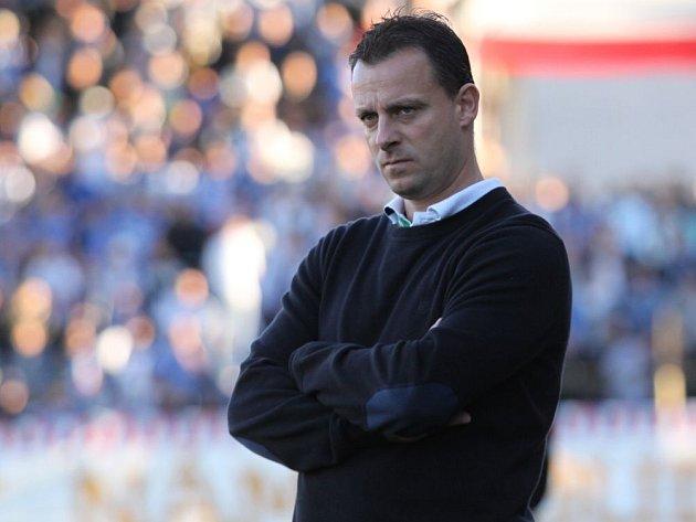 Trenér Baníku Martin Svědík