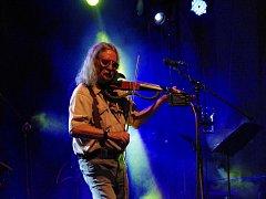 Plastic People of the Universe koncertovali na uherskohradišťském Kolejním nádvoří.