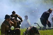 Bitva o Strání. Inscenace bojů k 69. výročí osvobození obce