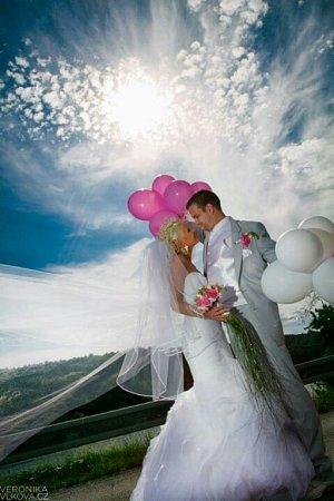 Soutěžní svatební pár číslo  25 – Nikol a Petr Kočí, Zlín