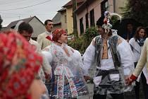 V Tučapech se letos hodovalo opět s právem. Stárkovský pár Per Janalík a Alena Ferková však byl přespolní.