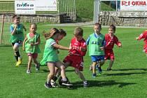 Turnaj fotbalistů z mateřských škol.