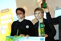 Pracovnice ekologického centra Veronica v Hostětíně převzaly v Bruselu významné ocenění.